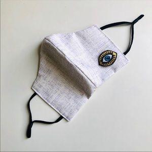 NEW Evil eye Face Mask w/ filter.
